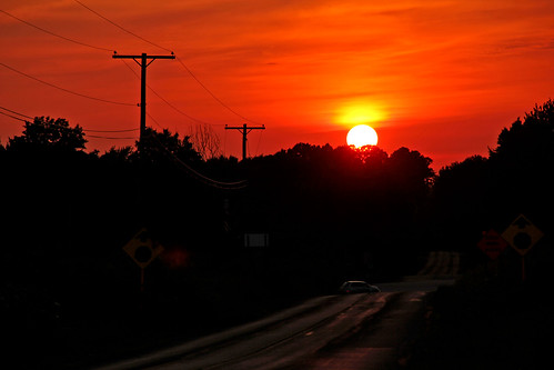 sunsetphotography sunsets sunset ohio northeastohio clintonohio clintonroad sunandclouds cloudsandsky clouds
