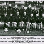 Victorious U14 squad 2003