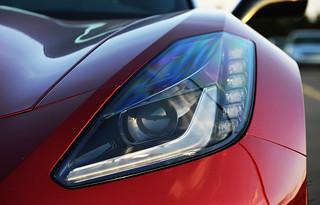 Chevrolet Corvette (C7) Stingray headlight   by autobaptistgallery
