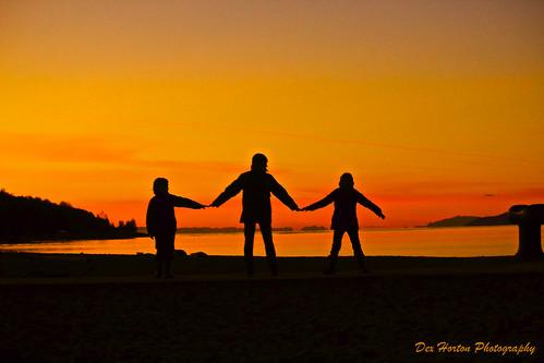 ca family orange beach silhouette vancouver bc outdoor britishcolumbia explore newyearseve jerichobeach happyfamily in healthykids bunnybeach protectenglishbay