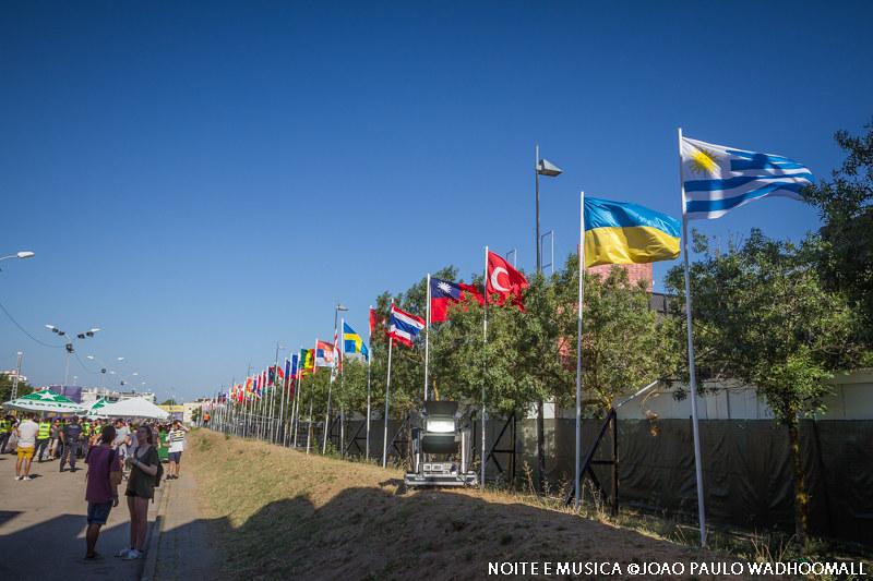 As várias nações do NOS Alive'16