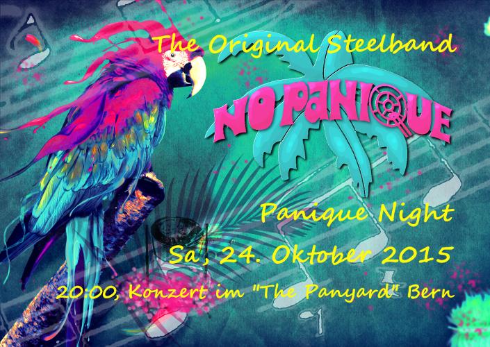 PaniqueNight am 24. Oktober 2015 im The PanYard, Bümpliz