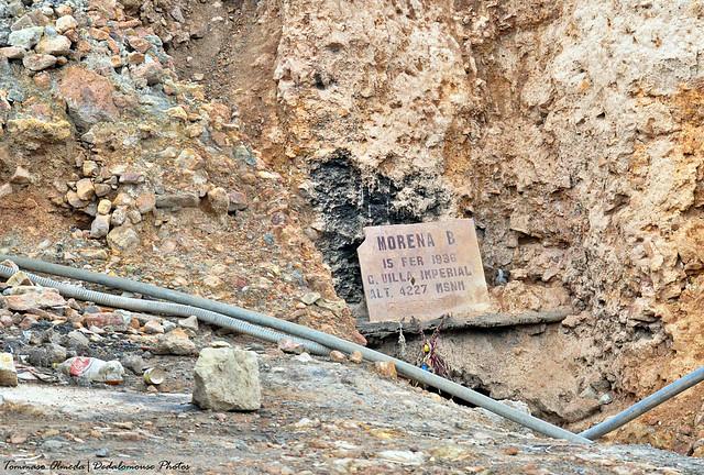 Miniera Morena 4227 m s.l.m. - Morena Mine 4227 m.a.s.l. - Mina Morena 4227 m s.n.m.