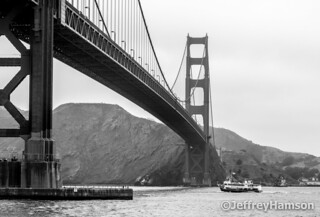 Ship under the Golden Gate | by MightySlam