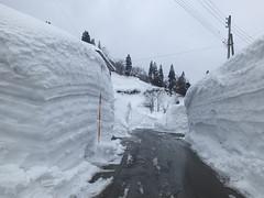 3m以上の積雪