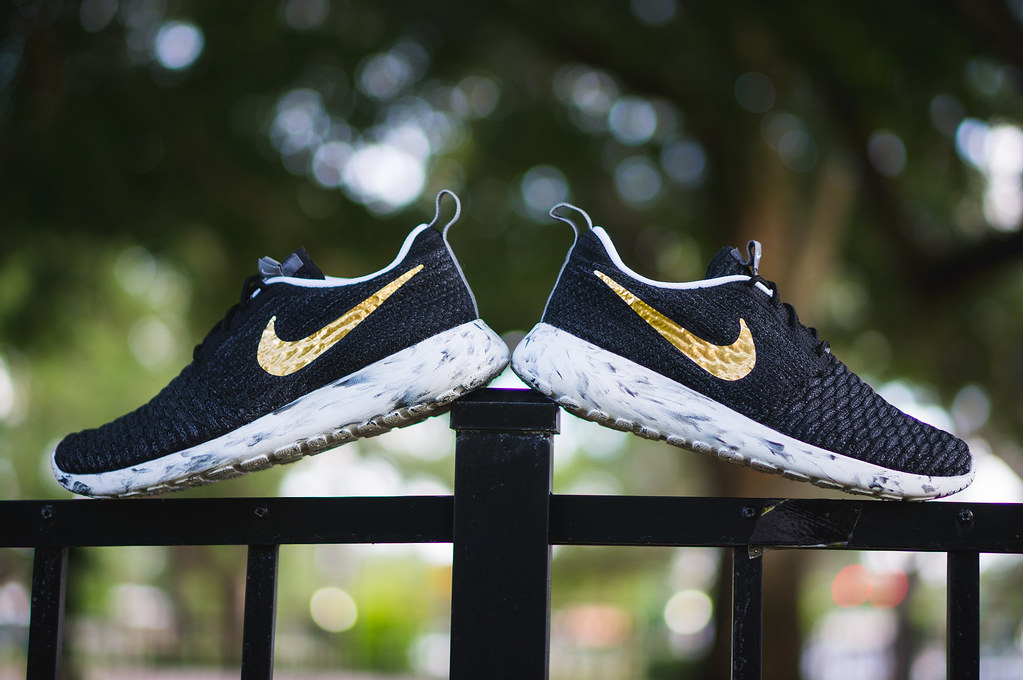 purchase cheap be854 4fd75 ... Nike Roshe One Flyknit iD   by Niwreig