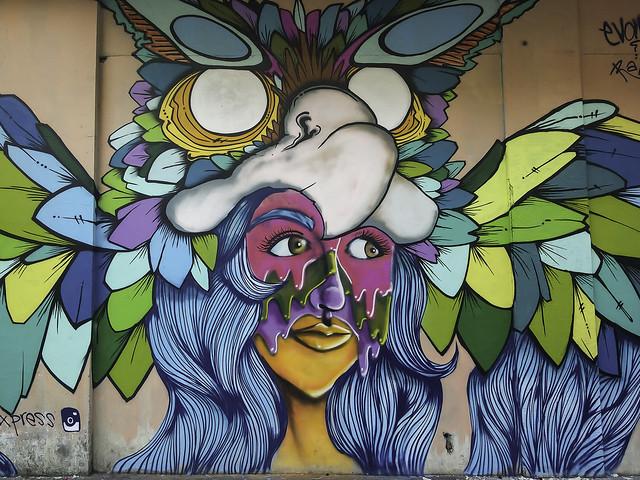 Street art by @insano507 and @evadexpress