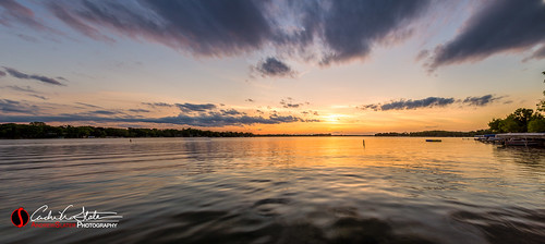 sunset lake water wisconsin clouds canon landscape us twilight waves place unitedstates horizon panoramic oconomowoc wi laclabelle discoverwisconsin travelwisconsin 5dmarkiii andrewslaterphotography wicounties