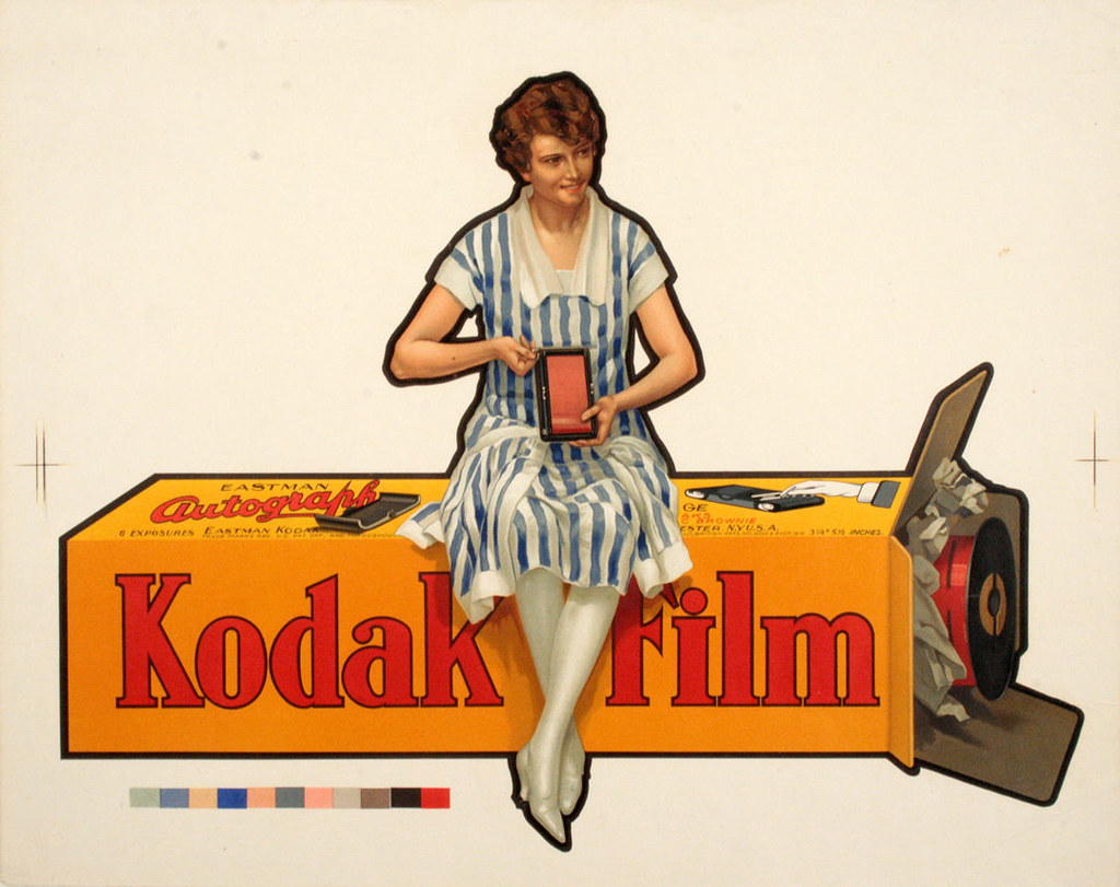 Kodak Paper Poster Circa 1915 | This image is believed to be