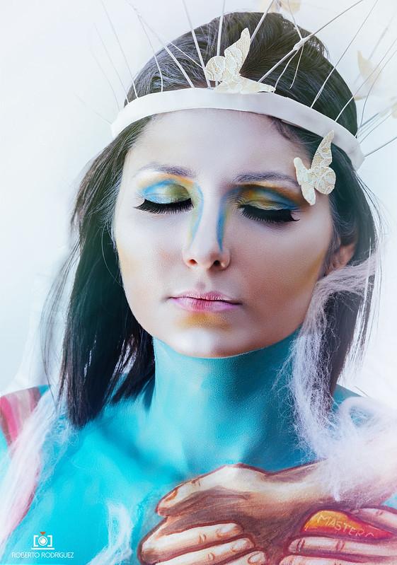 Modelo. Gabriela Teran, Mua. Ana Cristina Caballero