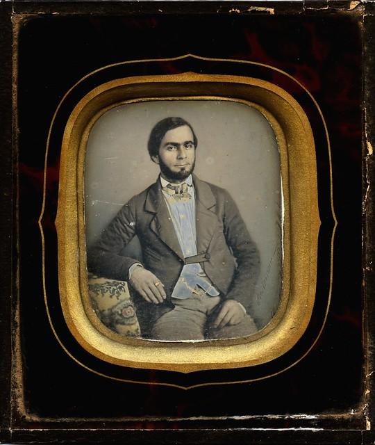 Hippolyte Hartmann - Confidant Man, St Pierre, Martinique, ca 1850