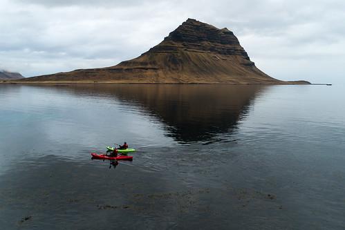 Kayaking in Iceland | by Tómas Freyr