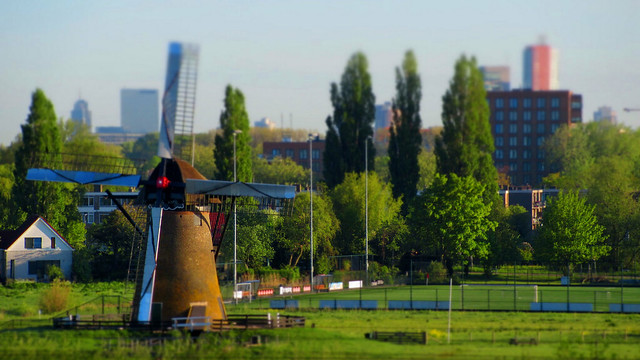 Mill and the city