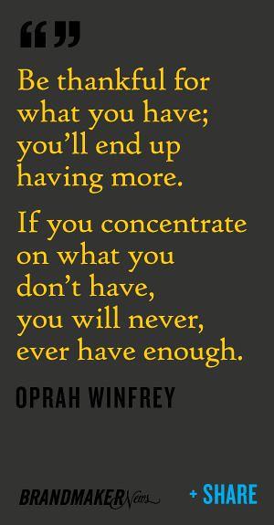 Citations De Oprah Winfrey Be Thankful Https Citati
