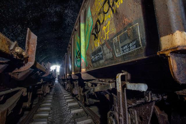 Cheltenham Abandoned Trains