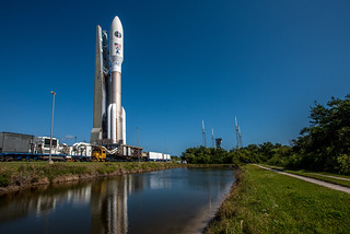 Roll to the Launch Pad: Atlas V AFSPC-11 | by United Launch Alliance