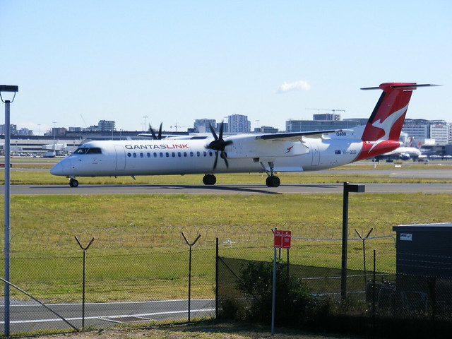 Still more activity at Sydney Airport.
