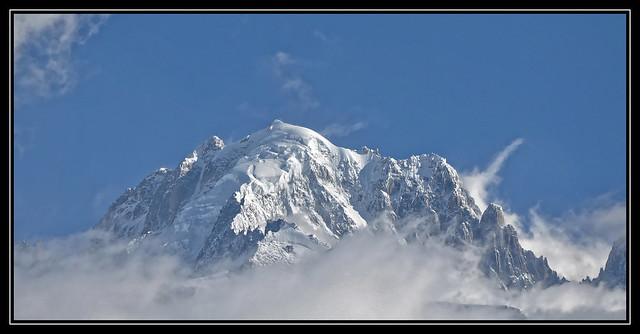 L'AIGUILLE VERTE dans le massif du Mont Blanc