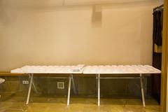 En la imagen se pueden ver las papeletas del Colegio situado en Lobiano Kultur Gunea