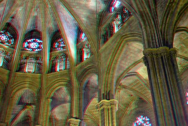 Cathedral Barcelona 3D