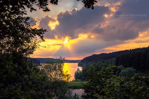 landschaft sunset landscape sky explore