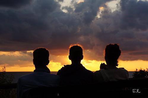 michigan lakemichigan sunset silhouettes silhouette sky lake greatlakes grandhaven pier piers
