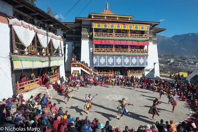 Torgya Festival Dance