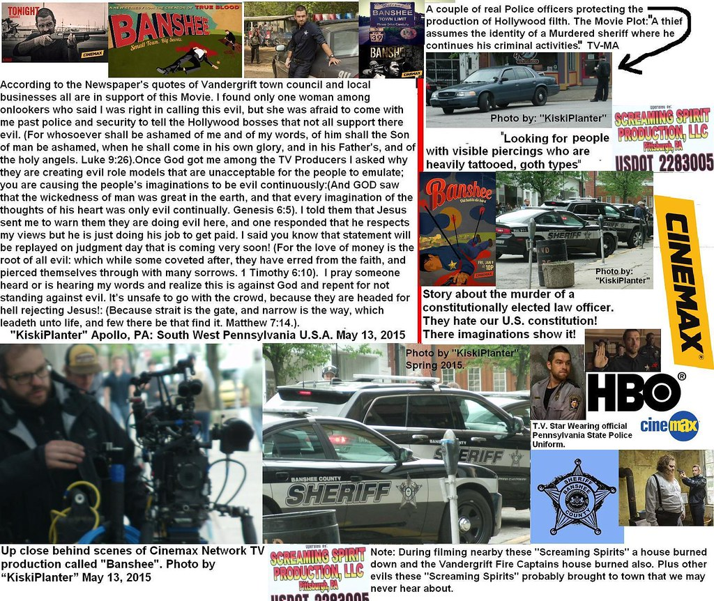 Hollywood evil filmed in KiskiPlanter's area Sinemax TVSho