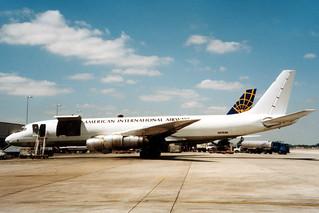 N6161M Douglas DC-8 @ Miami 15 maart 1996 by Jan Hetebrij