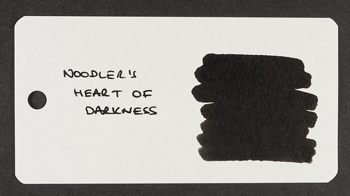 Noodler's Heart of Darkness - Word Card | by Terry Finney