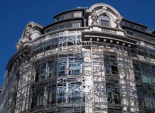 Close-up on French Ministry of Culture & Communication in Paris 1st