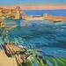 La baie de Collioure, Gouache on board, 33x25cm