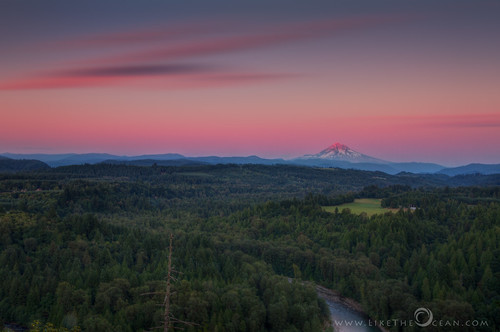 travel sunset oregon landscape twilight sandy mthood devilsbackbone alpineglow jonsurdviewpoint