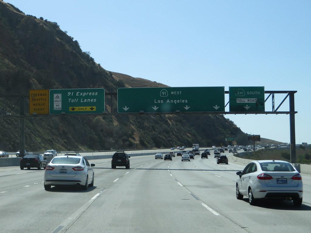 Express Lane California >> California State Route 91 Between Corona And Yorba Linda Flickr