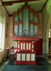 Bodley organ case