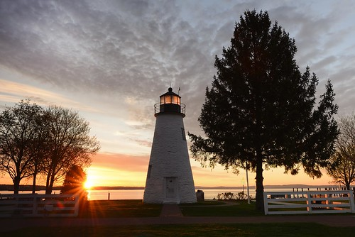 ocean lighthouse nature sunrise landscape maryland d600 concordpoint