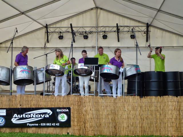 Steelbandfestival Cudrefin am 26. Juli 2014 in Cudrefin