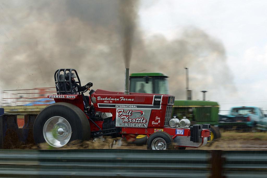 Full Throttle Wide Open | Little Log House Tractor Pull ...