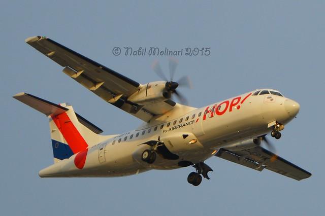 Hop! F-GPYK ATR 42-512 msn/537 @ LFPO/ORY 13-03-2015