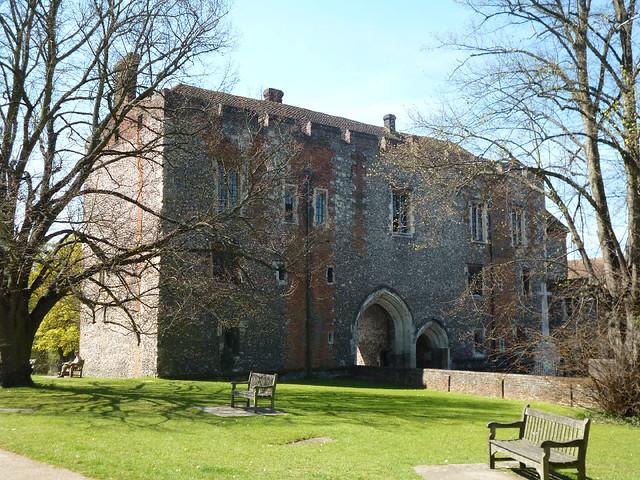 Rear of old monestry gateway