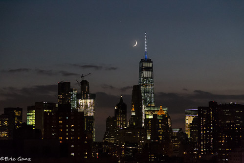 NYC Moonset | by jamganz
