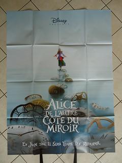 Affiche De l'autre côté du miroir / Poster Alice in Wonderland 2: Through the Looking Glass