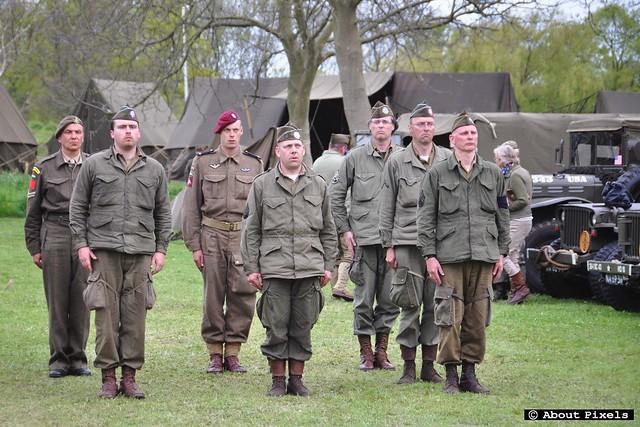 Plechtige en eervolle Dodenherdenking - Bevrijdingsfestival (Brielle/NL)