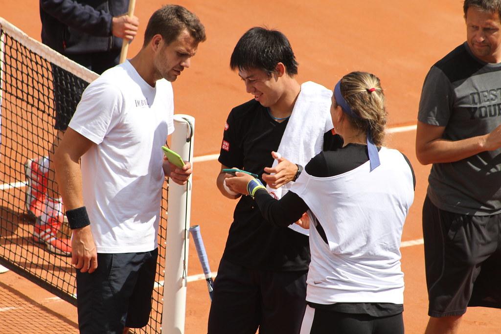 Matthieu, Nishikori and Azarenka