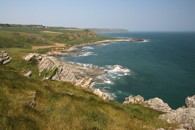 View from Prawle Point