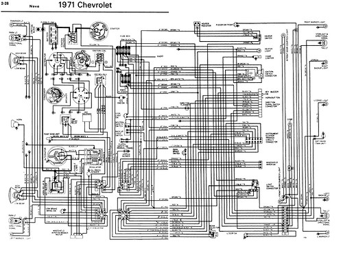 1971 Nova Wiring Diagram