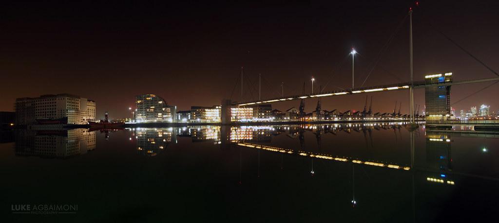 Perfect Reflection At Royal Victoria Bridge London Flickr