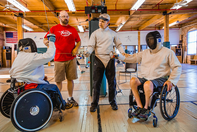 Adaptive Fencing Clinic @ West Michigan Fencing Academy (Grand Rapids, MI) - May 27, 2015