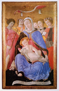 Siena, Toscana, Pinacoteca, Virgin of humility / Domenico di Bartolo