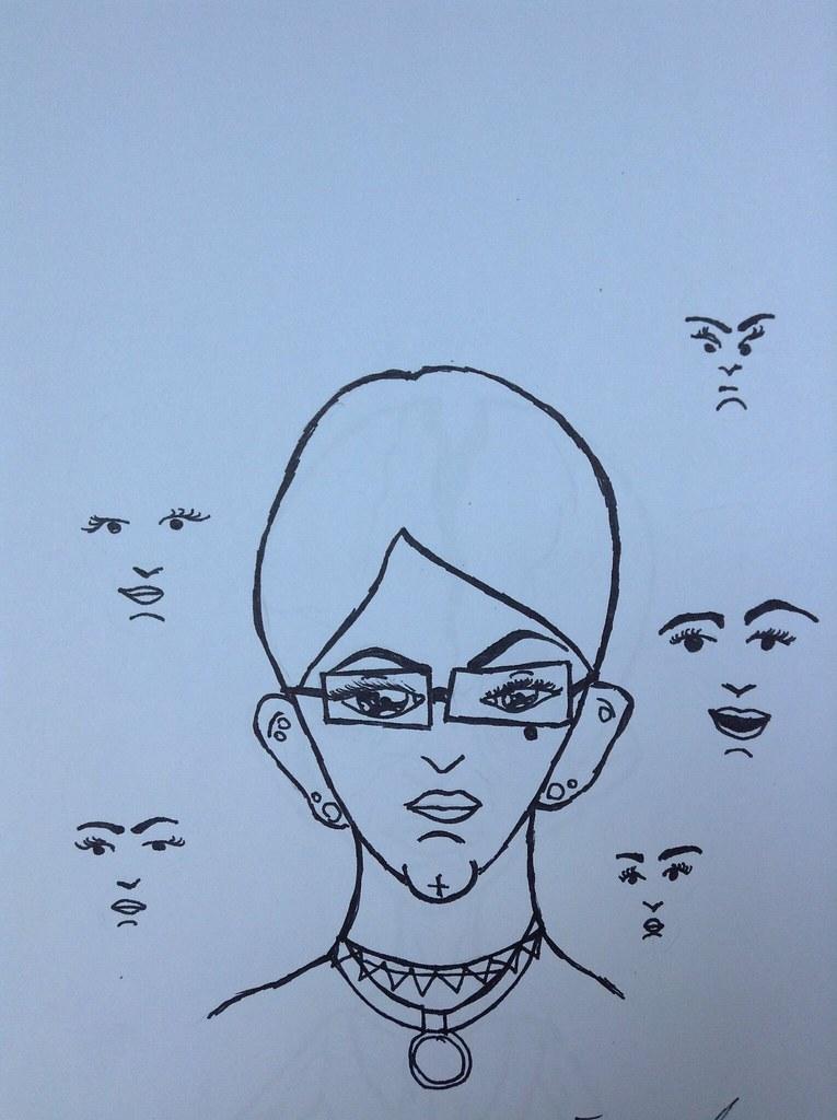 Trippy Art Sketches